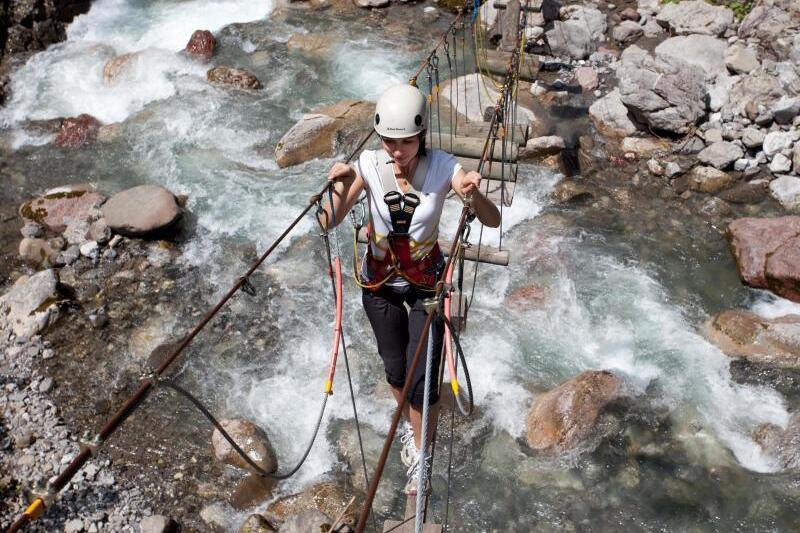 Klettersteig Urlaub : Packliste klettersteig