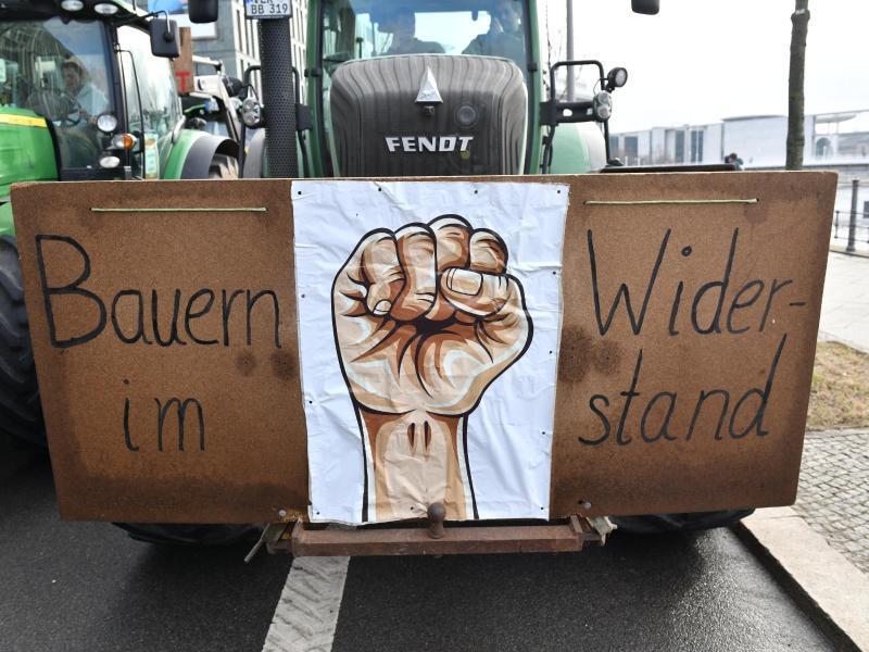 Bild zu Demonstration für Agrarwende