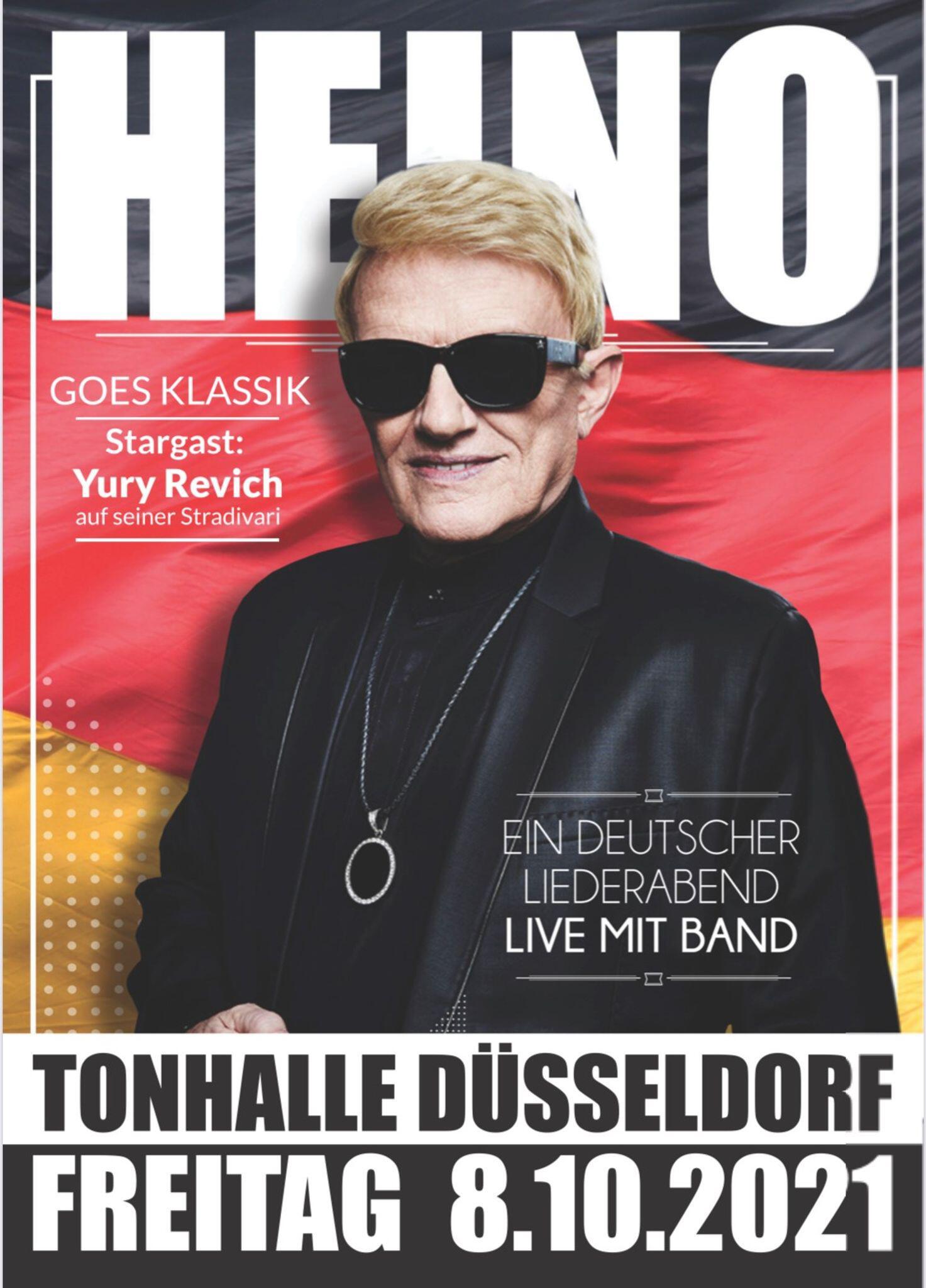 Bild zu Streit um Heinos «deutschen Liederabend» beigelegt