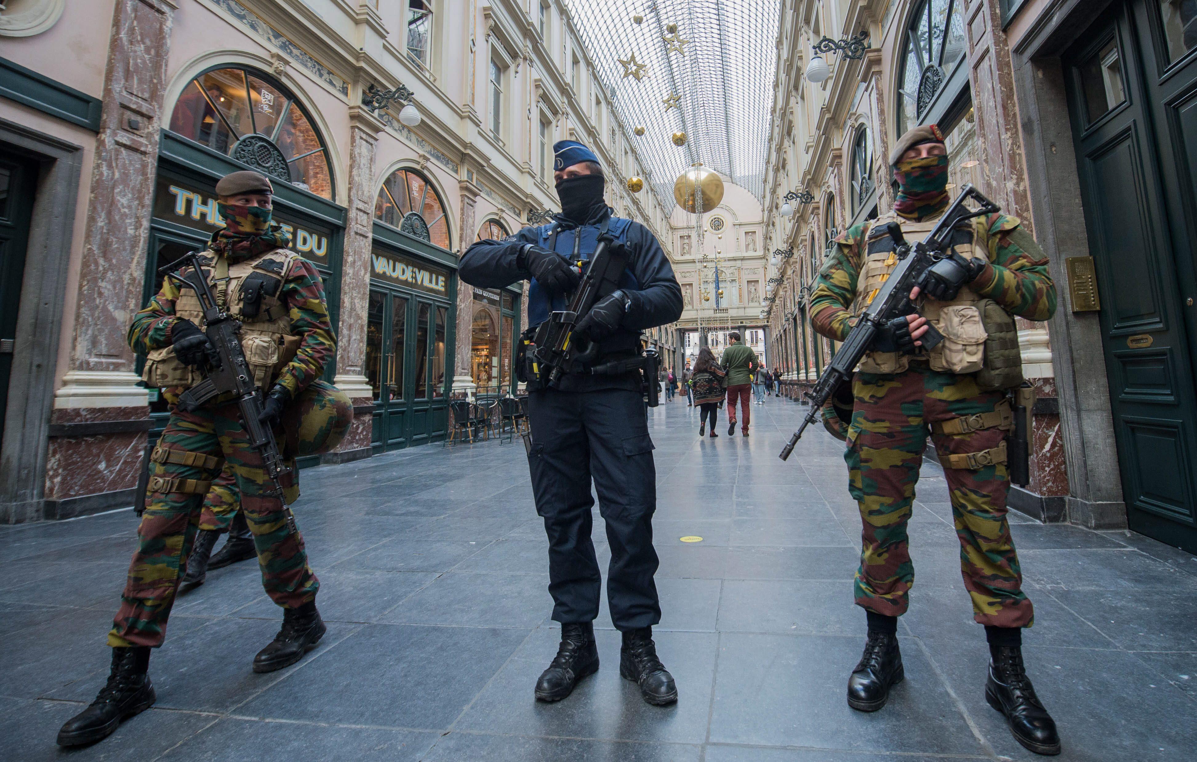 Bild zu Belgien Polizei