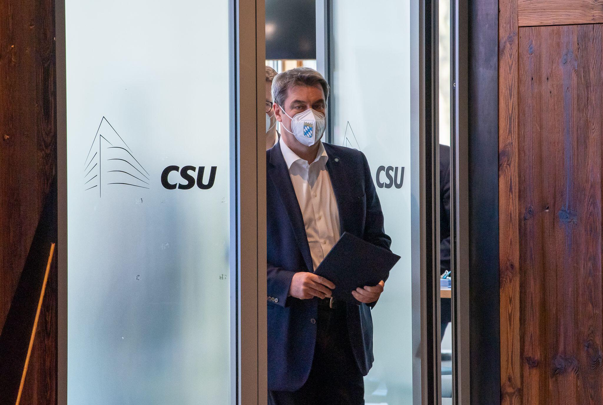 Bild zu Sitzung CSU-Vorstand