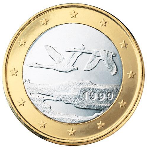 Bild zu 1-Euro-Münze aus Finnland