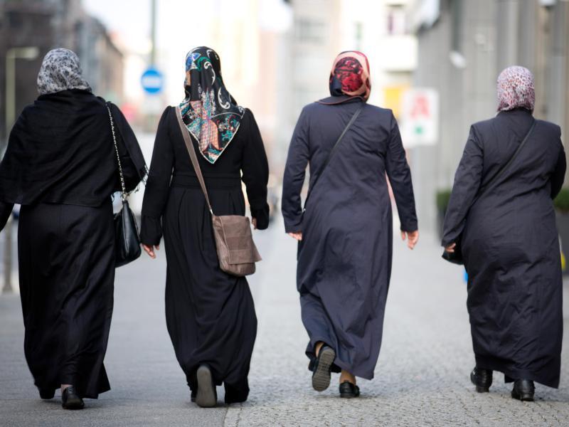 Bild zu Muslimische Frauen