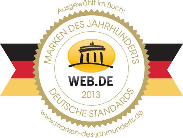 "Bild zu WEB.DE erhält ""Markenpreis"""