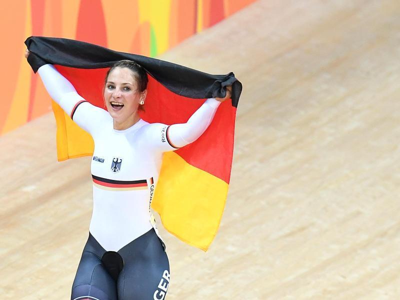 Bild zu Olympiasiegerin