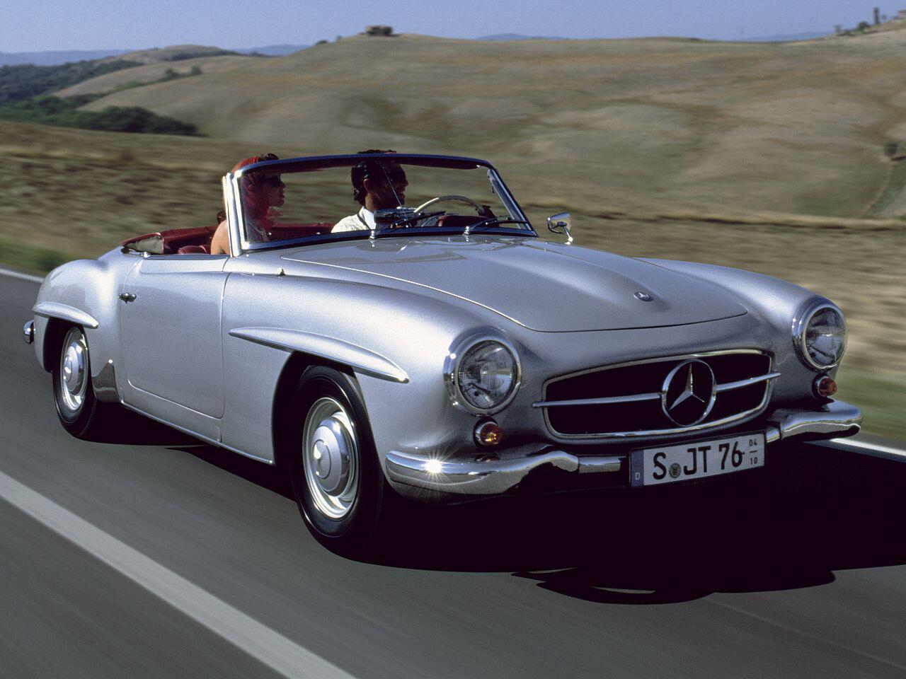 Bild zu Mercedes 190 SL