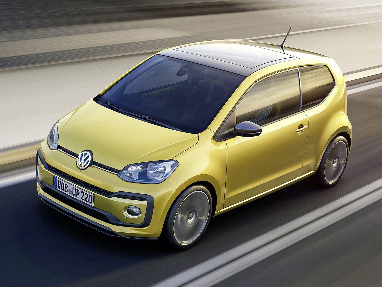 Bild zu Platz 2 Minis: VW Up