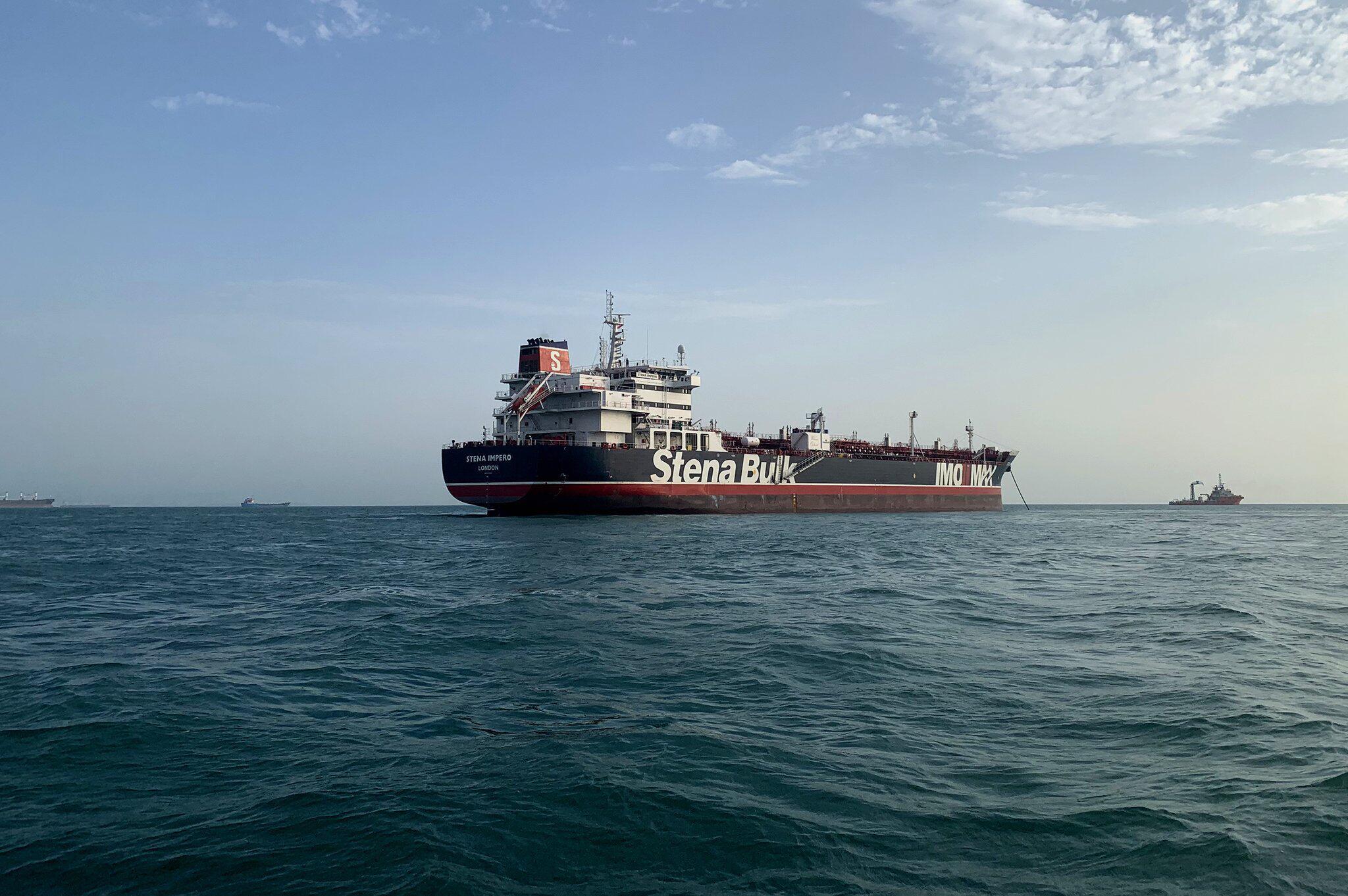 Bild zu Öltanker Stena Impero