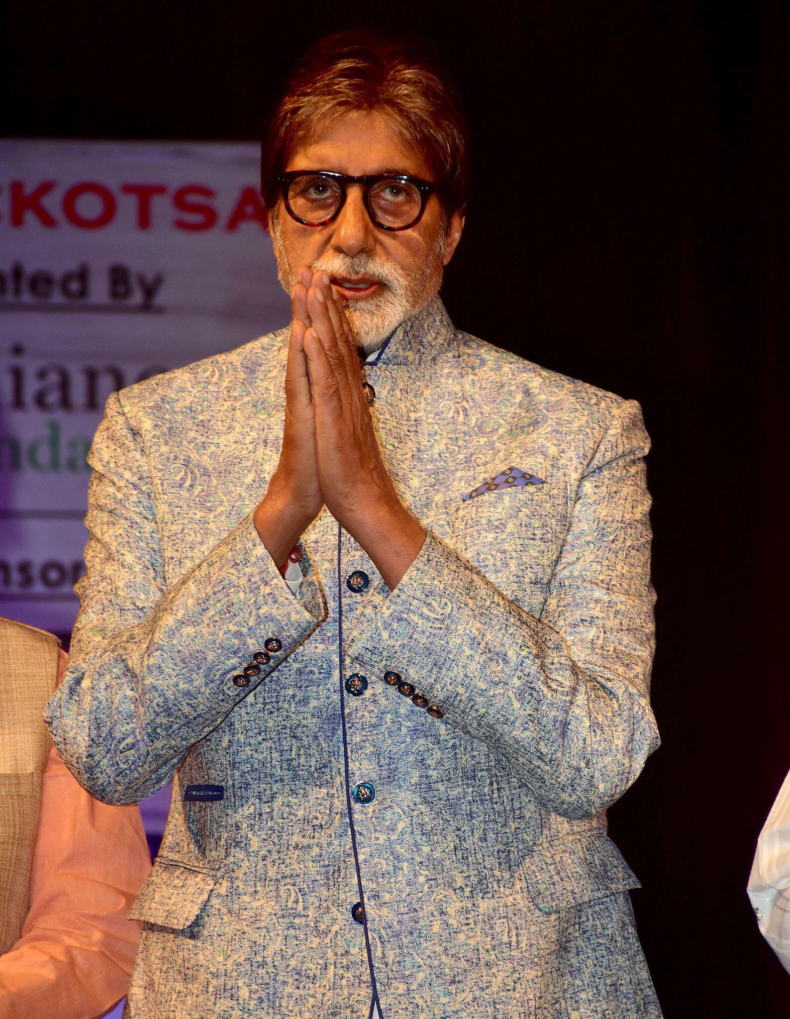 Bild zu Coronavirus - Bollywood-Schauspieler Bachchan