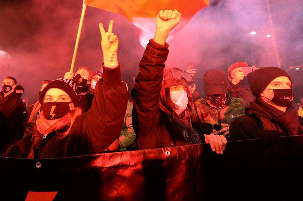 Proteste gegen verschärftes Abtreibungsrecht in Polen