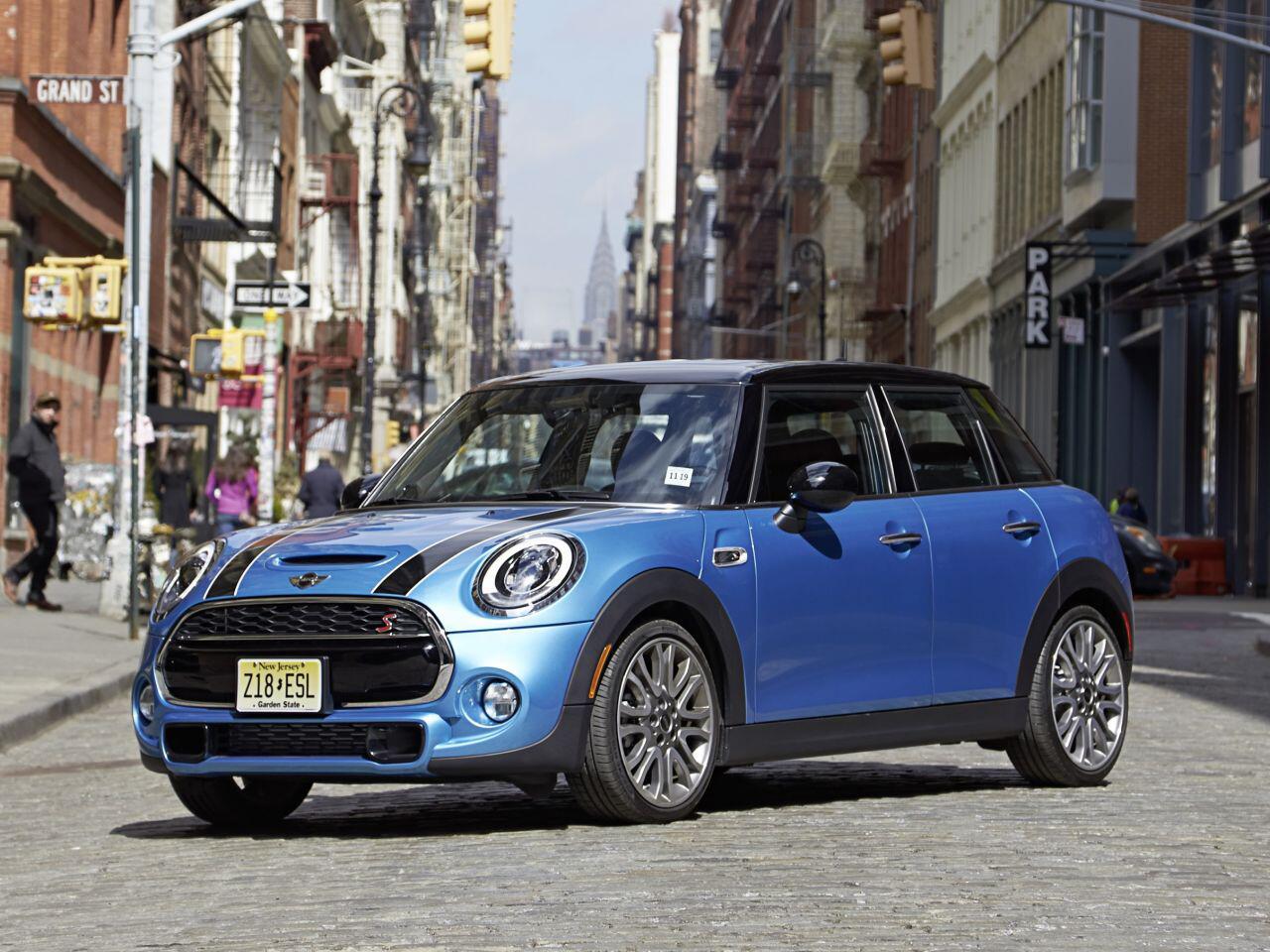 Bild zu Platz 1 Kleinwagen: Mini
