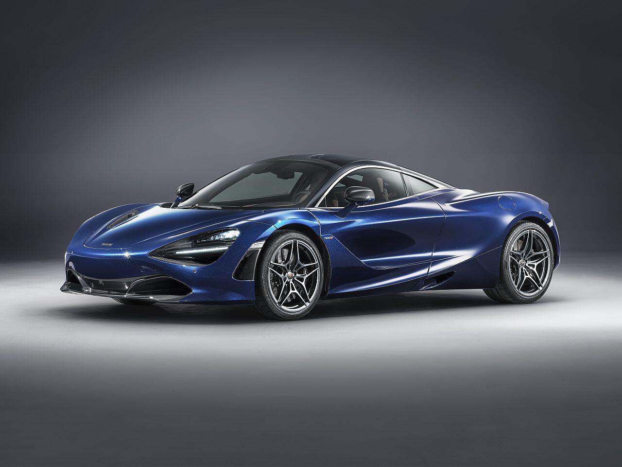 Bild zu McLaren 720S in Atlantic Blue by MSO