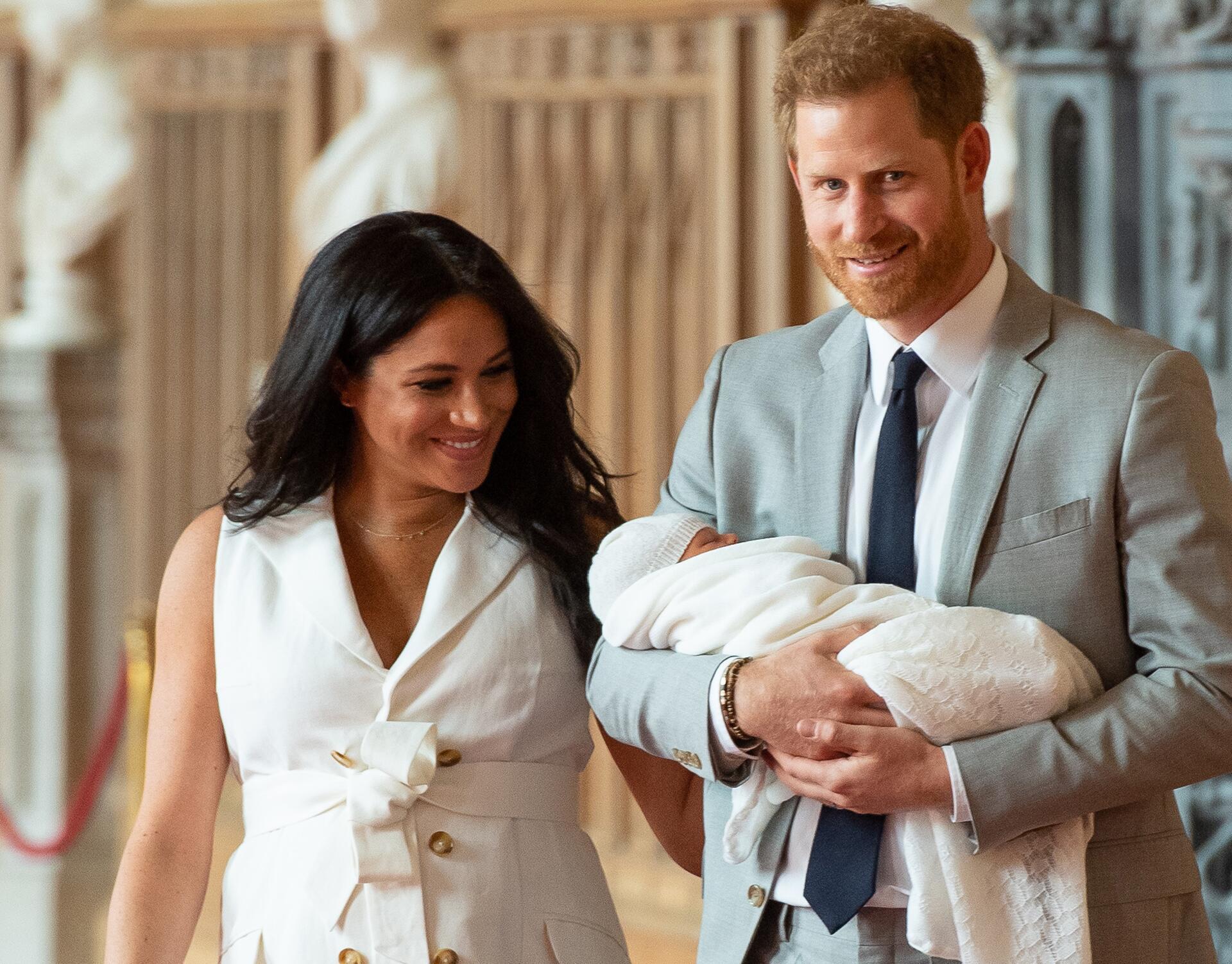 Bild zu «Baby Sussex» heißt Archie Harrison Mountbatten-Windsor