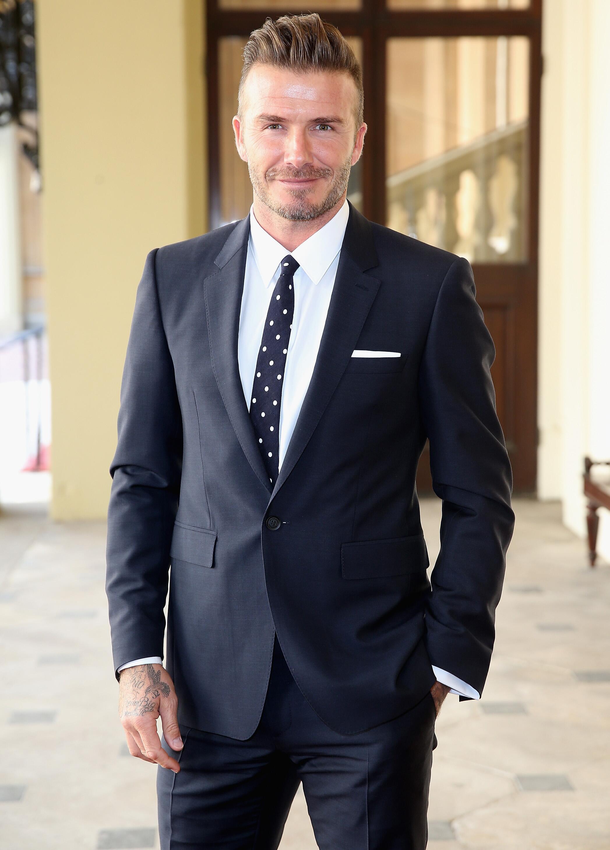 Bild zu David Beckham