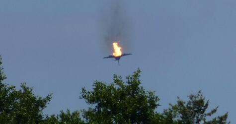 Two Eurofighters crash in Germany