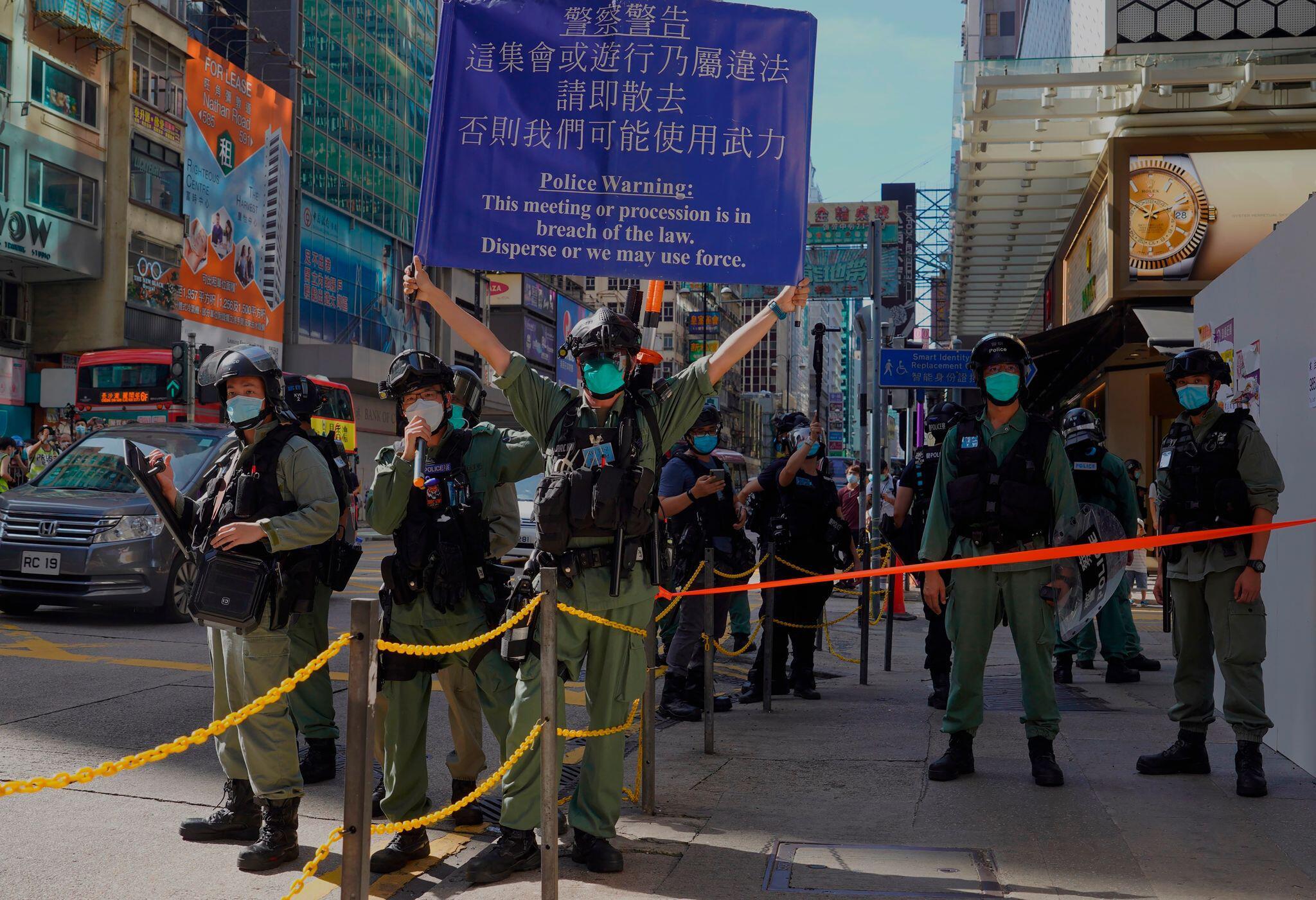 Medienberichte: China verabschiedet offenbar umstrittenes Hongkong-Gesetz