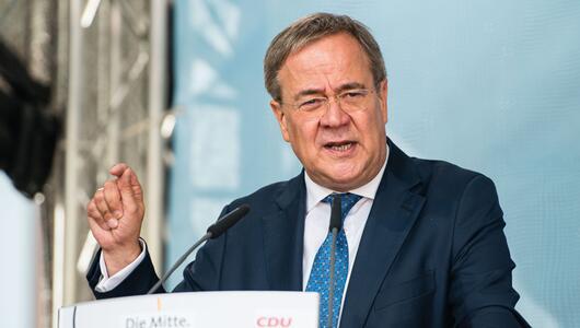 Wahlkampf CDU - Saarland