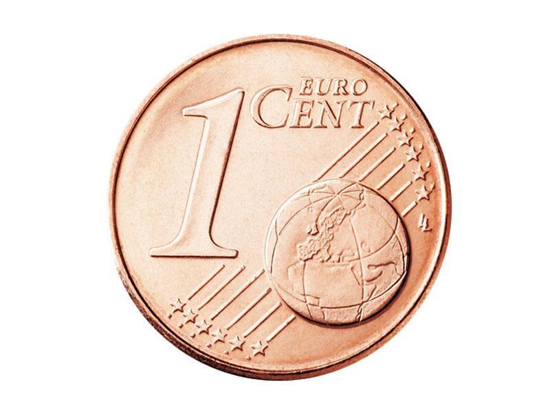 Ein Cent Münze