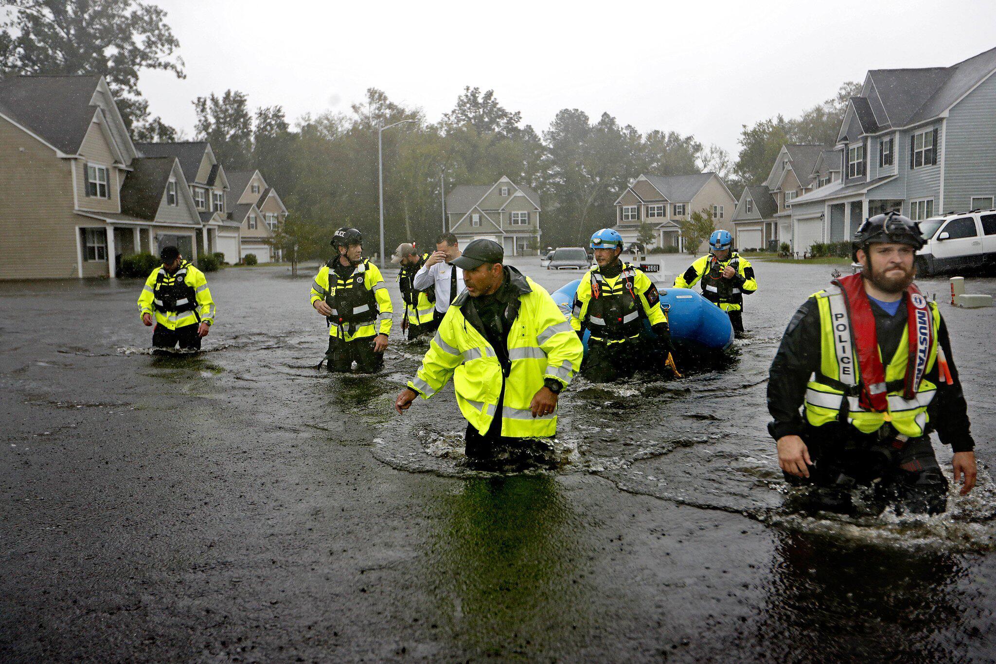 """Bild zu """"Florence"""" verursacht Überschwemmungen"""