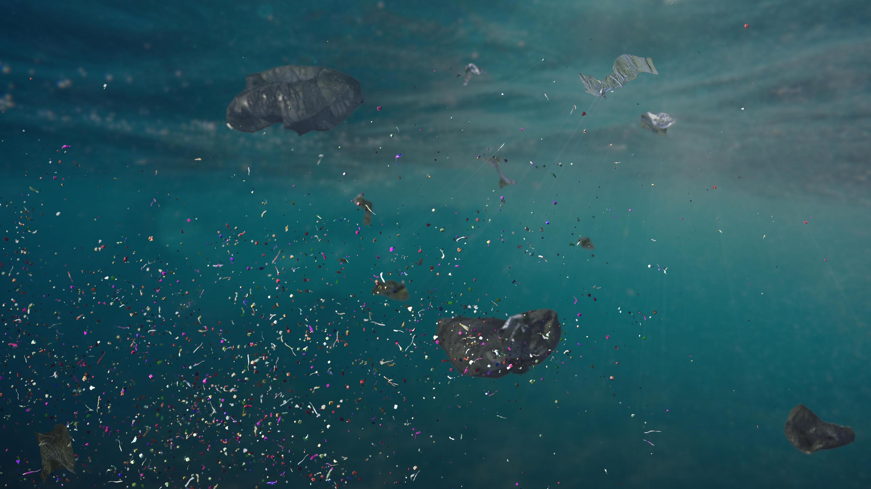 Bild zu Mikroplastik