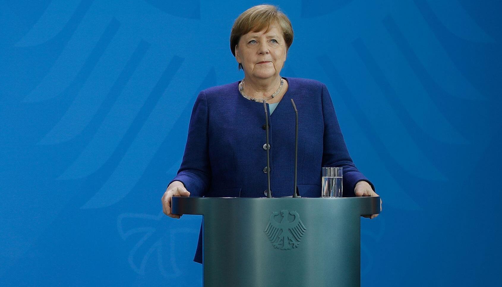 Bild zu Statement Bundeskanzlerin Angela Merkel