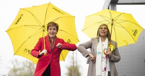Nach Parlamentswahlen in Schottland