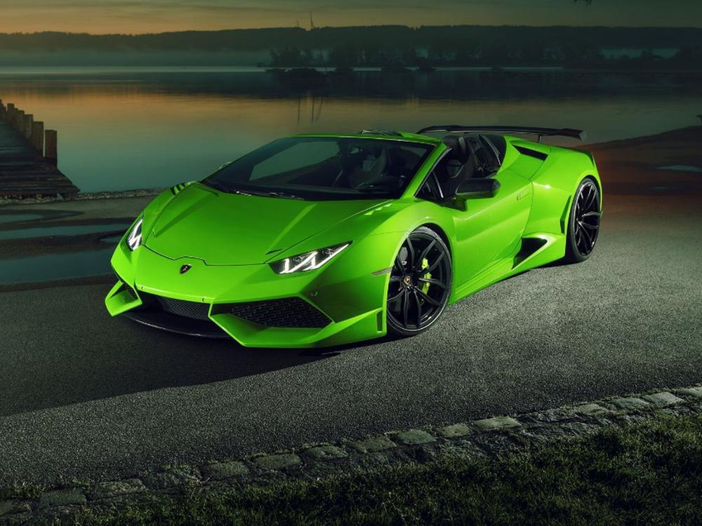 Bild zu Novitec N-Largo Lamborghini Huracán Spyder