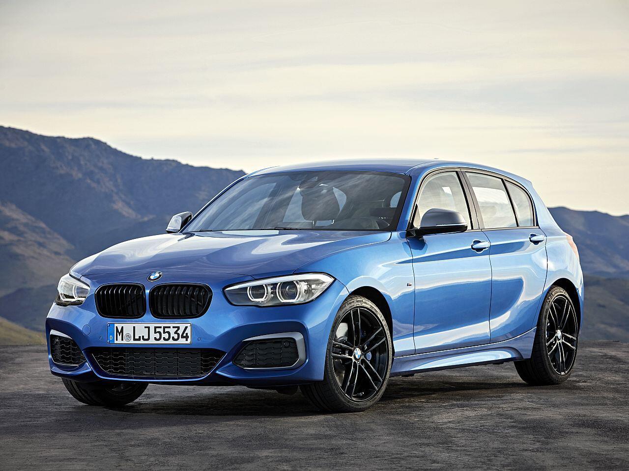 Bild zu Platz 2 Kompaktklasse: BMW 1er
