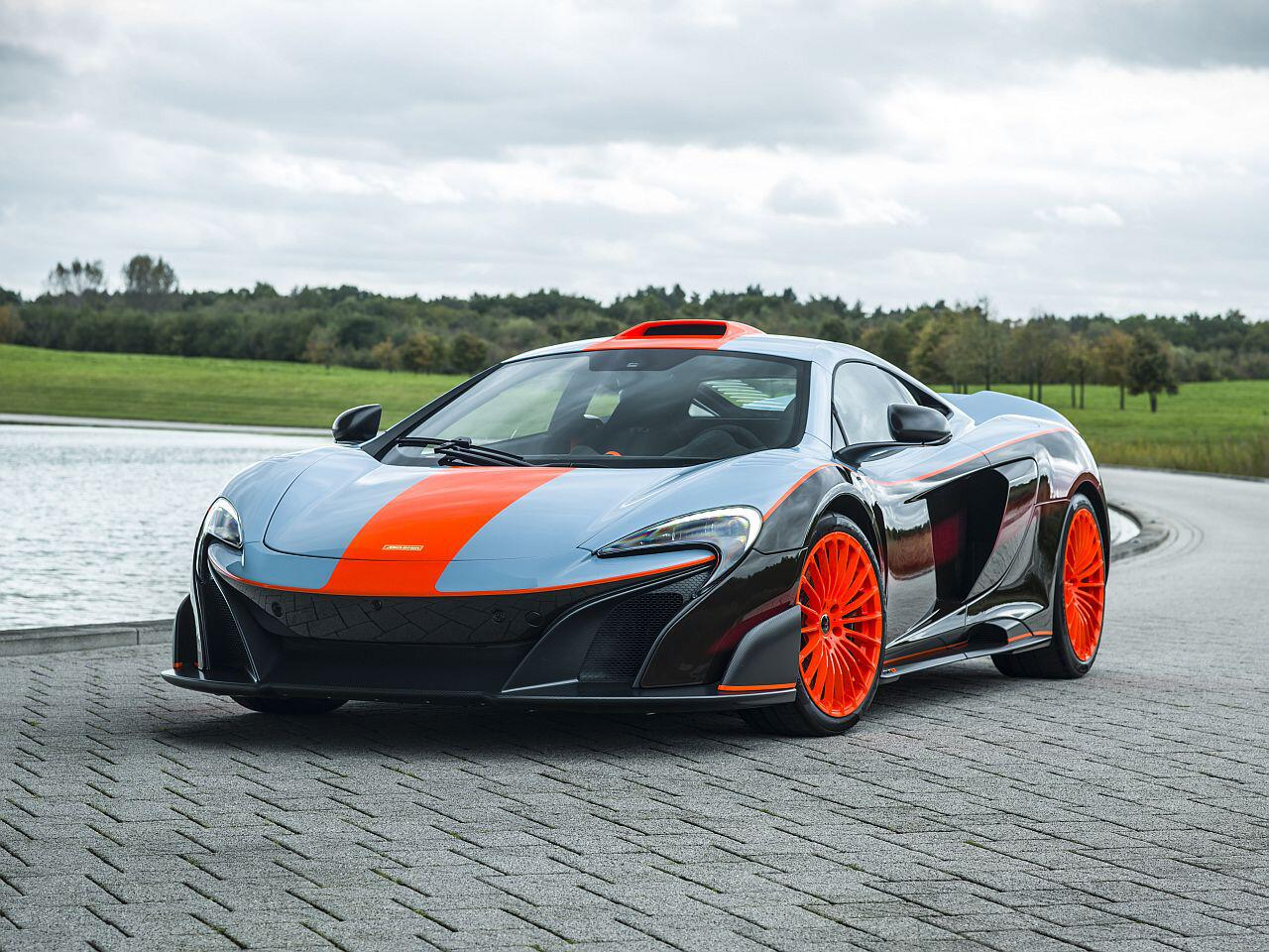 Bild zu MSO McLaren 675LT Gulf Racing Theme