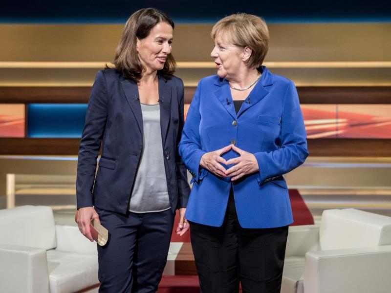 Bild zu Angela Merkel bei Anne Will