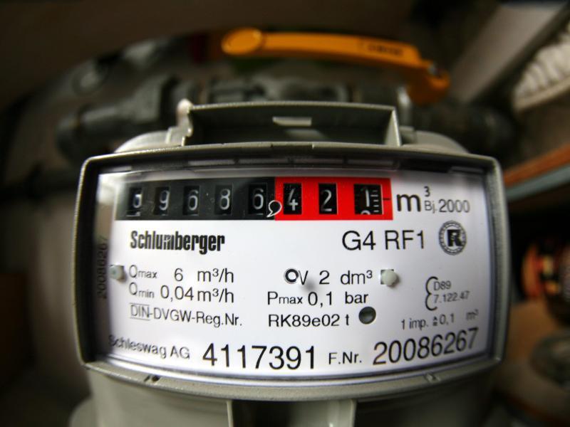 Bild zu Gaszähler