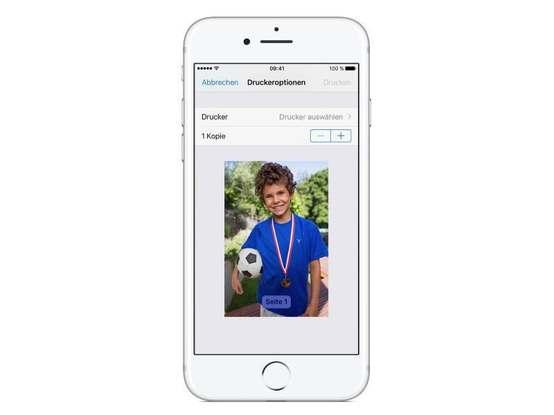 Bild zu AirPrint für Apples iOS