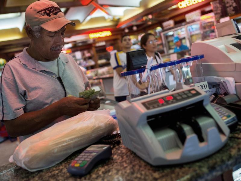 Bild zu Inflation in Venezuela