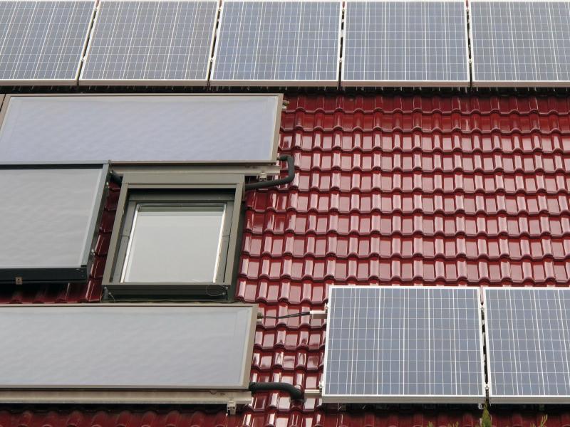 Bild zu Solarmodule und Solarthermie