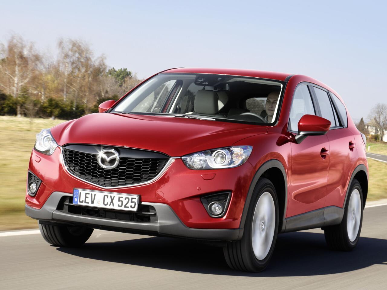 Bild zu 14. Platz: Mazda CX-5