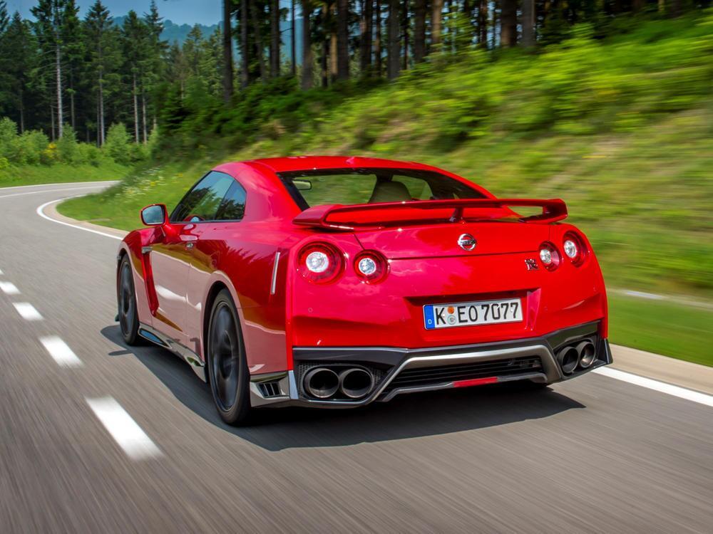 Bild zu Platz 6: Nissan GT-R