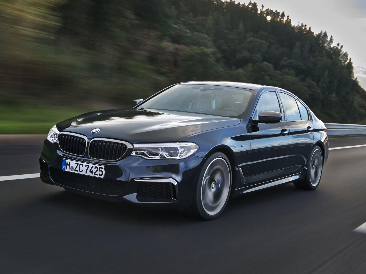 Bild zu Platz 1 Obere Mittelklasse: BMW 5er