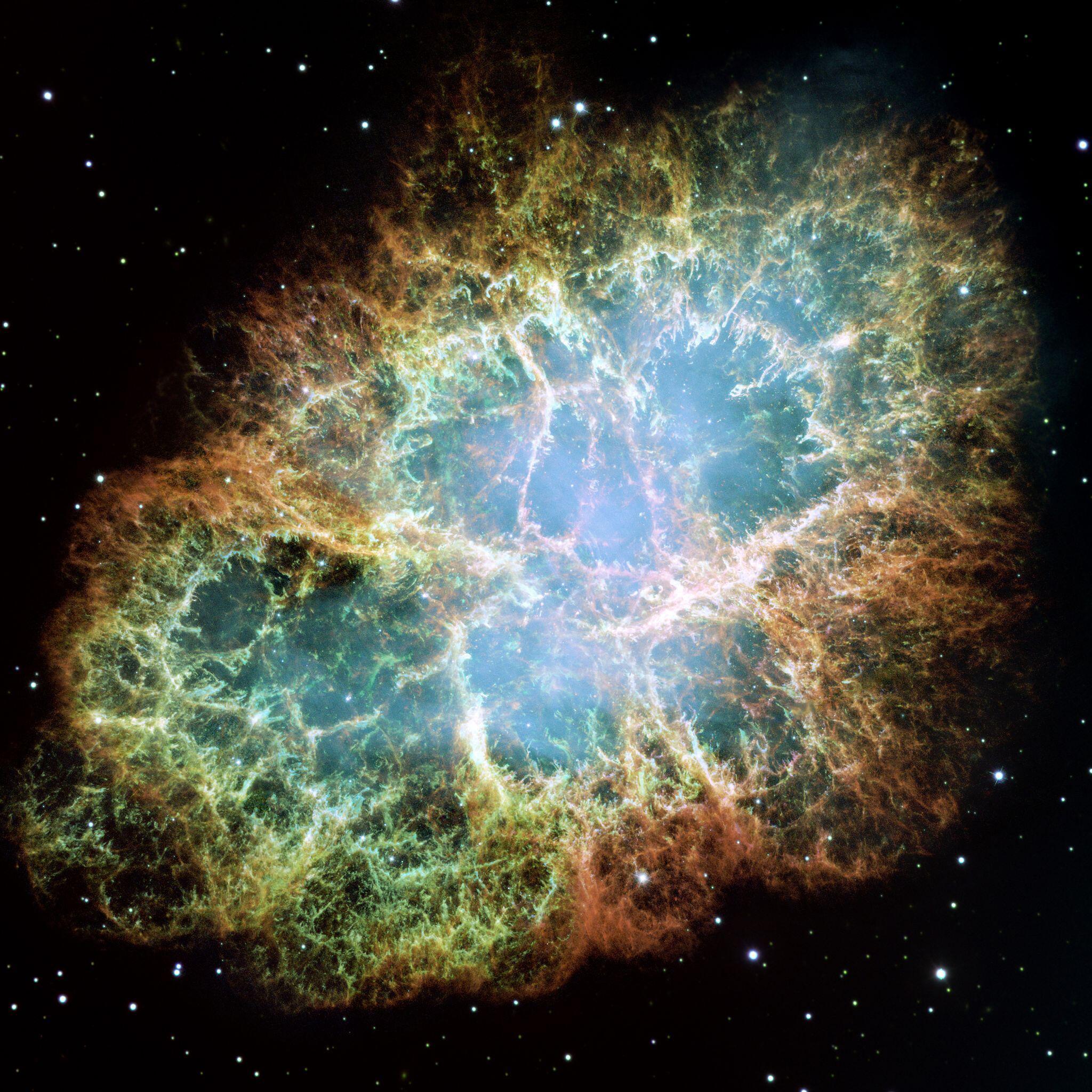Bild zu Supernova-Explosionswolke