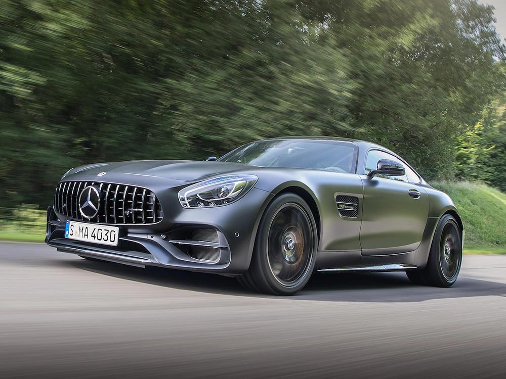 Bild zu Mercedes-AMG GT C Coupé Edition 50
