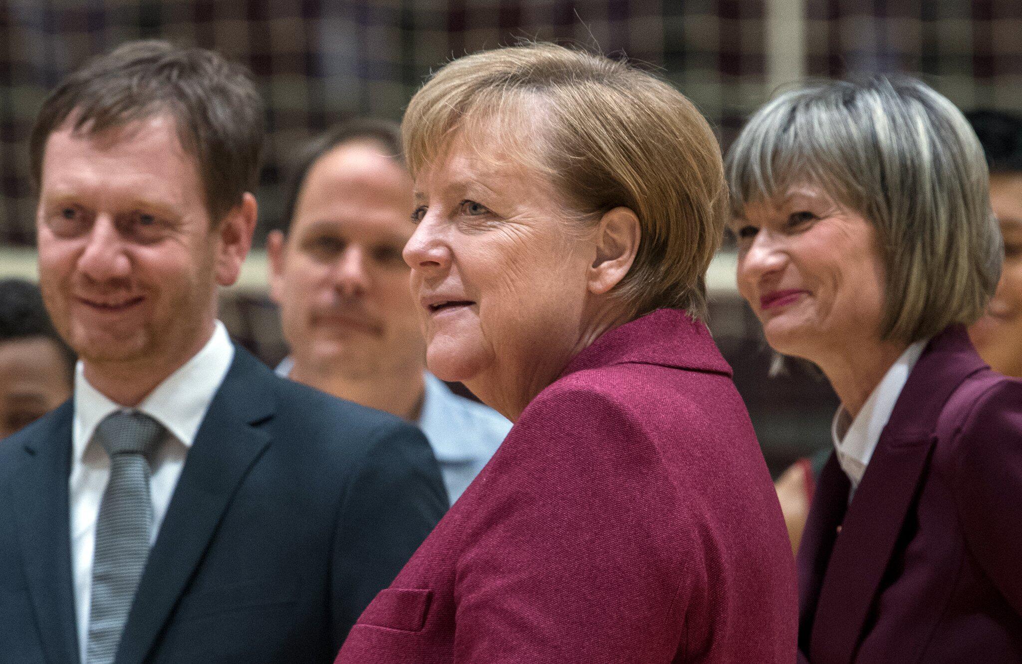 Bild zu Bundeskanzlerin Merkel besucht Chemnitz