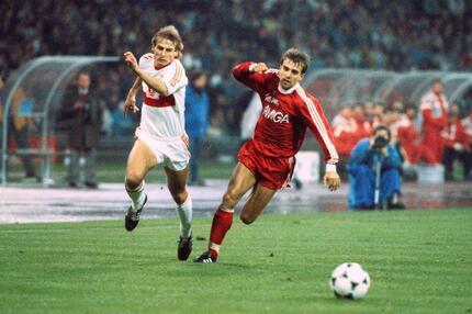 Jürgen Klinsmann, Hans-Dieter Flick, FC Bayern München, VfB Stuttgart, Bundesliga, 1988/89