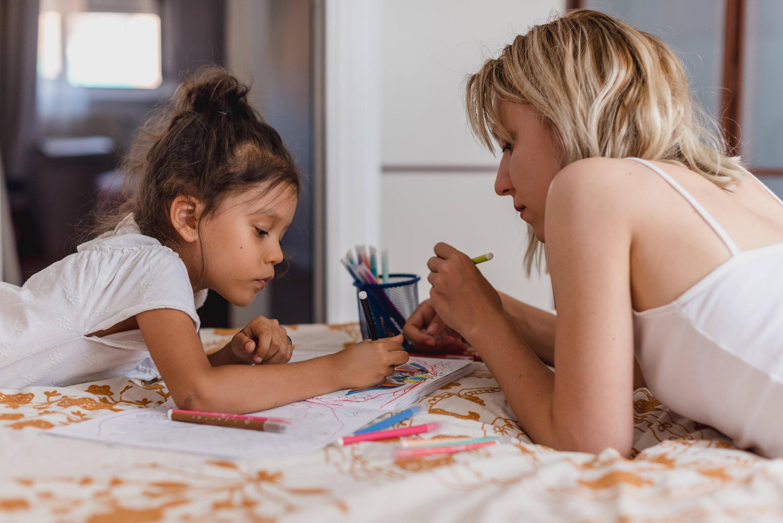 Bild zu Mutter mit Kind