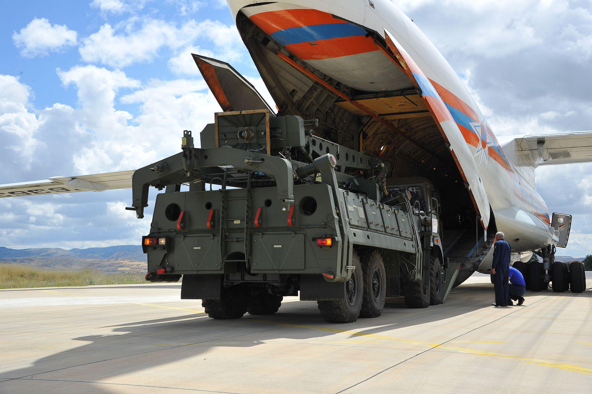 Bild zu S-400 Raketenabwehrsystem der Türkei