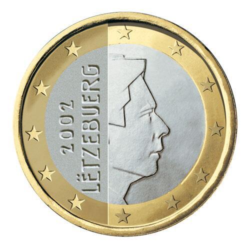 Bild zu 1-Euro-Münze aus Luxemburg