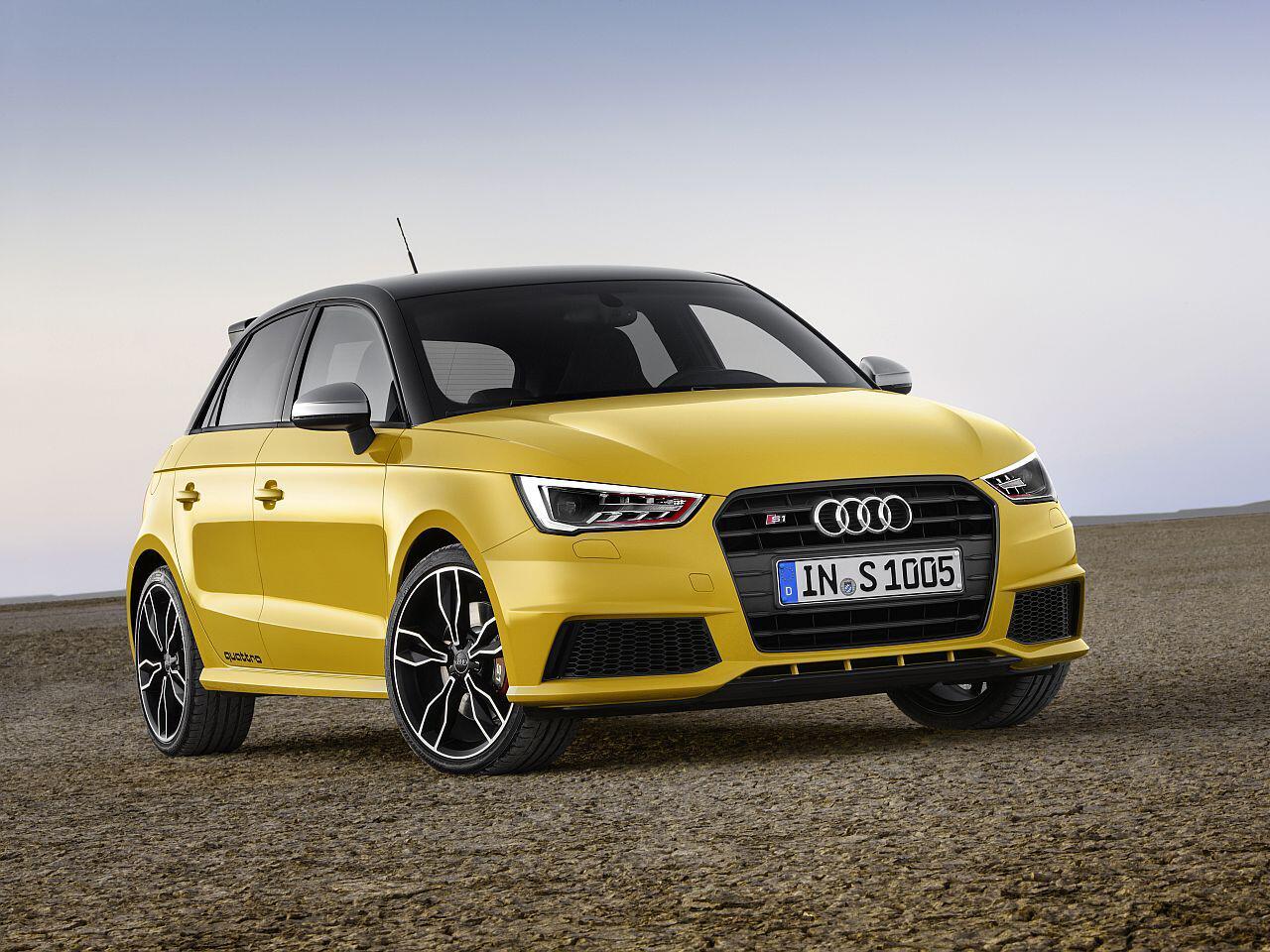 Bild zu Platz 1: Audi S1