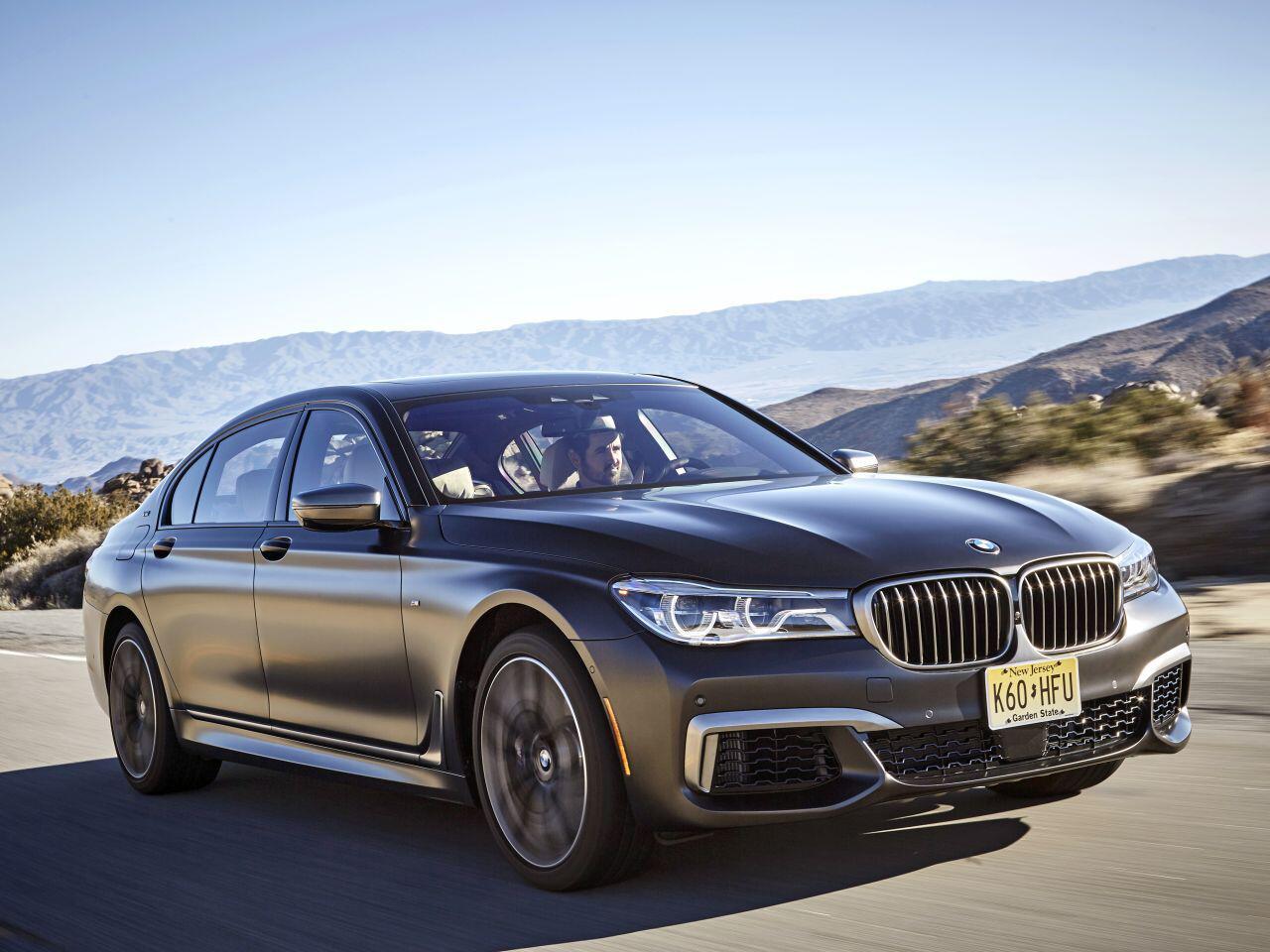 Bild zu Platz 2 Oberklasse: BMW 7er