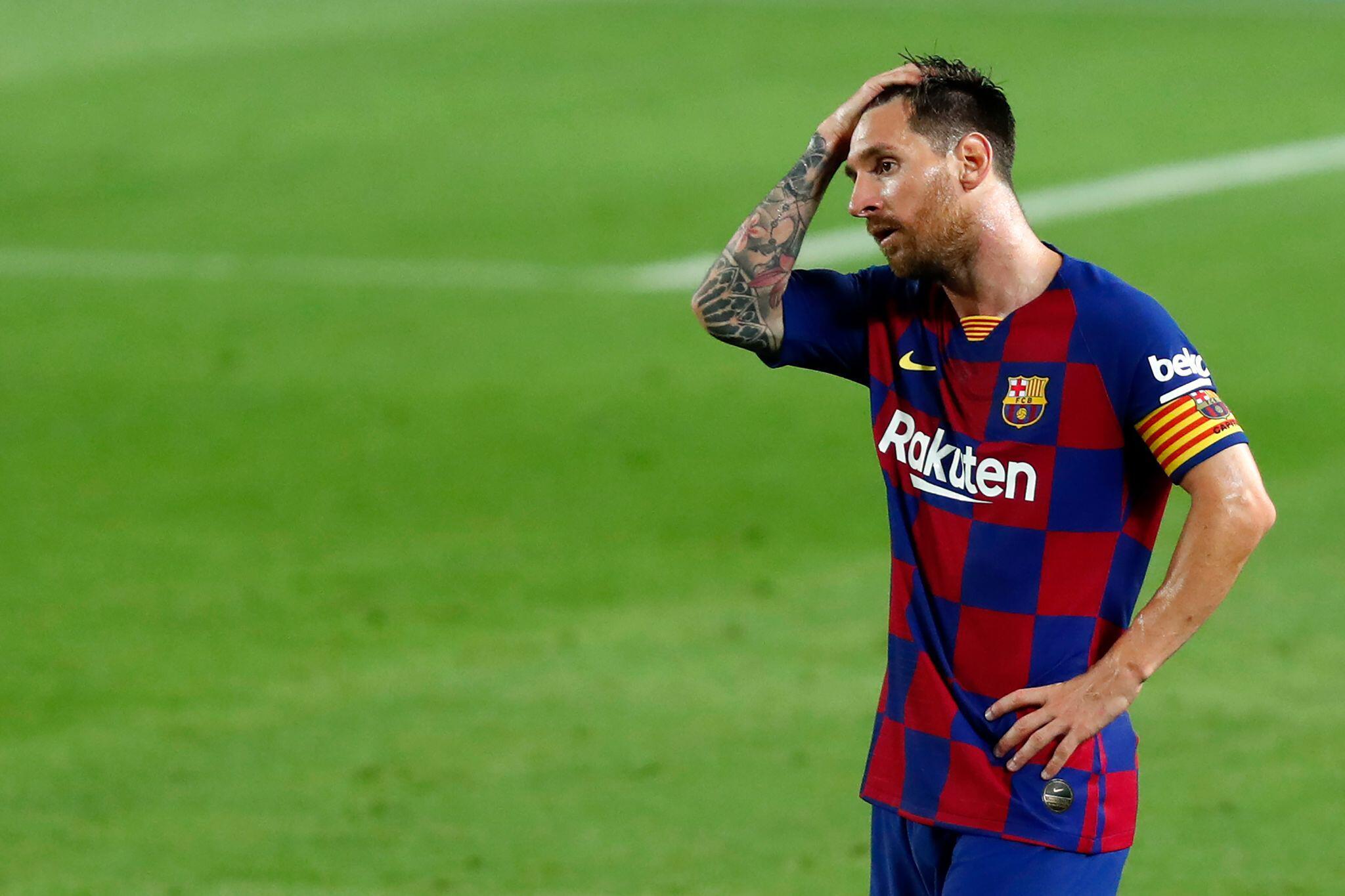 Bild zu Spanische Medien: Messi kommt nicht zum ersten Barça-Training