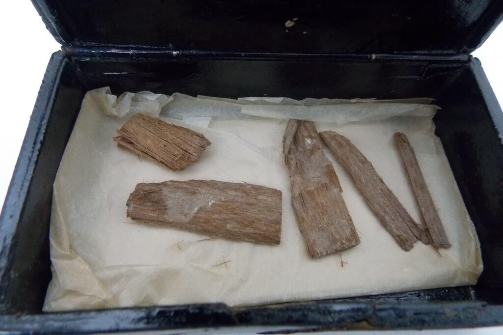 5000 Jahre altes Holzstück aus Pyramide gefunden