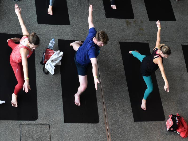 Bild zu Internationaler Tag des Yoga
