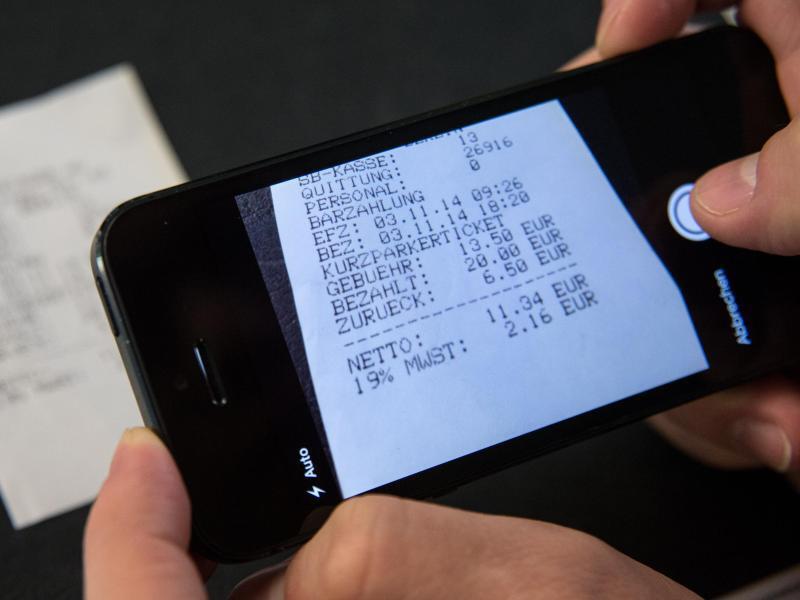Bild zu Scannen per Smartphone